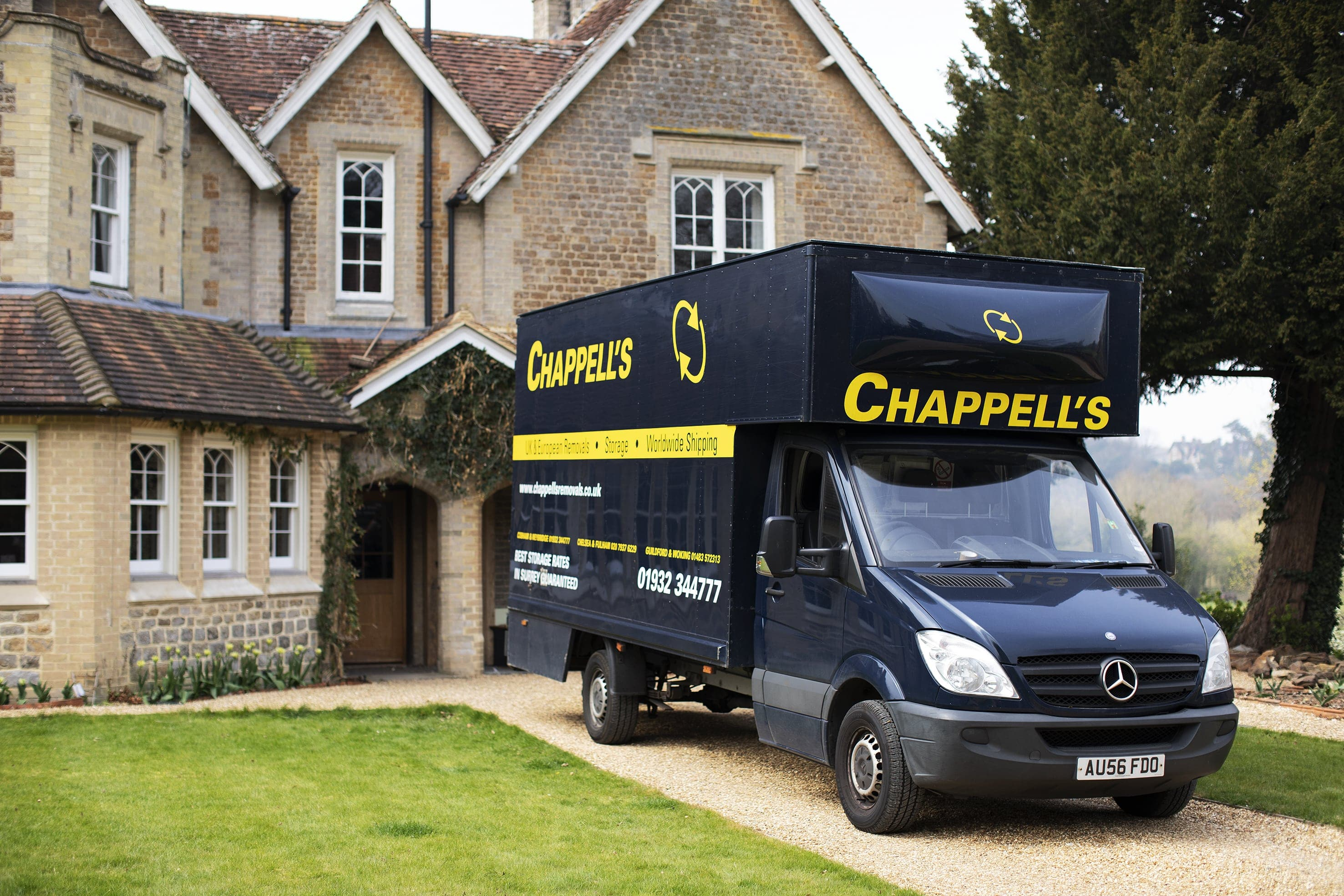Domestic, Commercial & International Removals & Storage Across Surrey & London Image