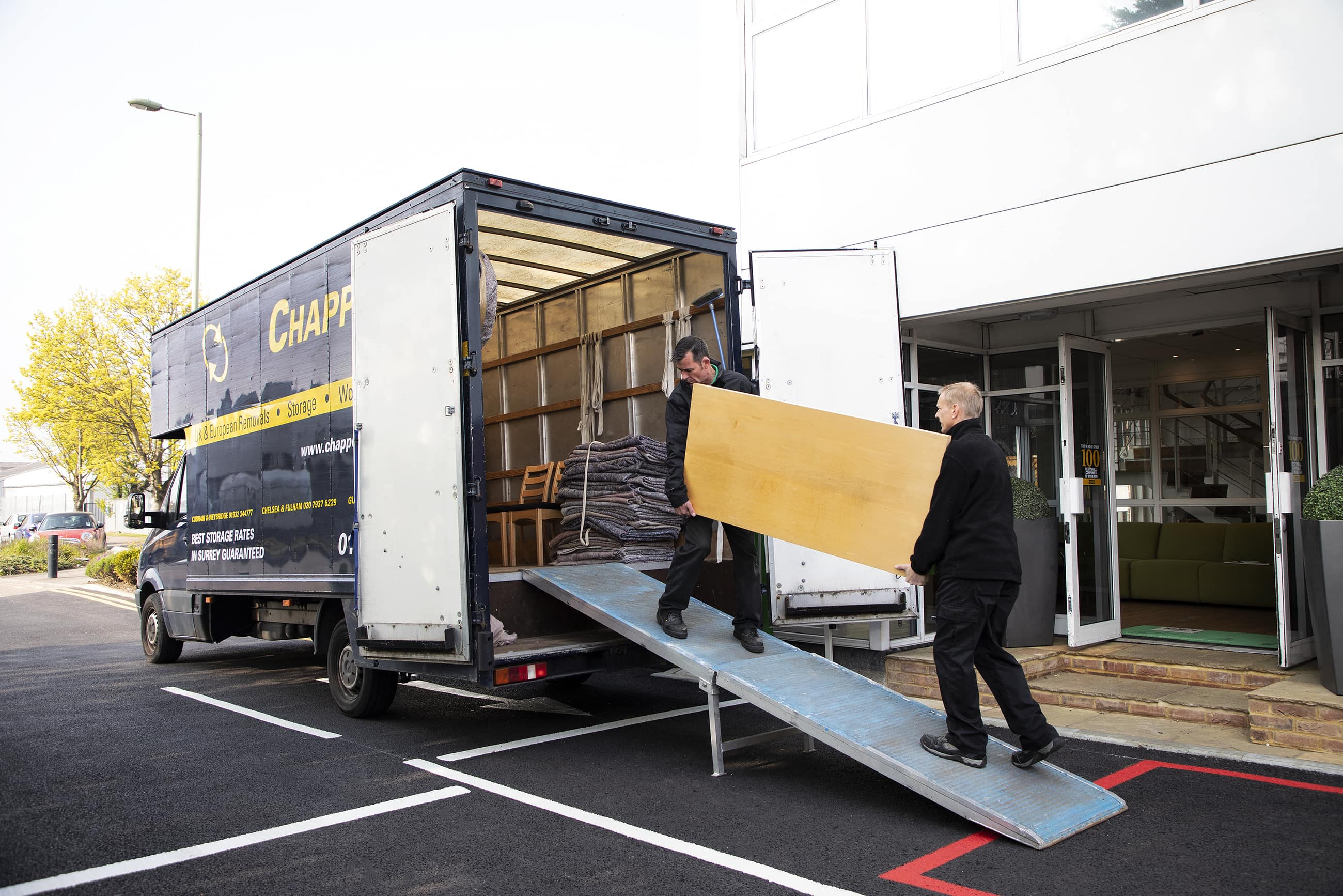 Professional Office Movers for Surrey & London Image